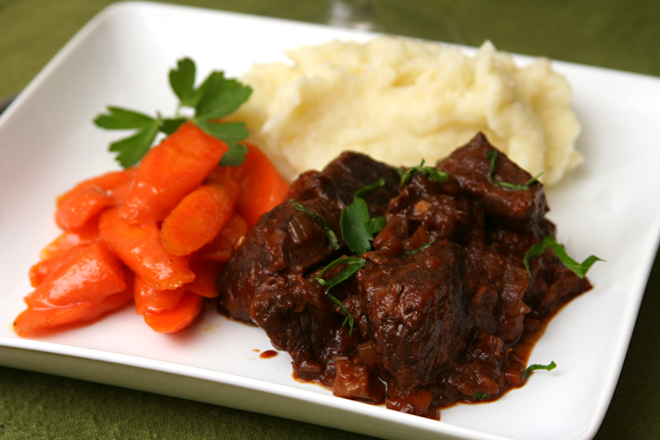 wine braised beef 7