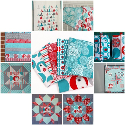 Brrr! Inspiration - I need this fabric line! :)