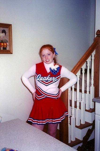 whit cheerleader