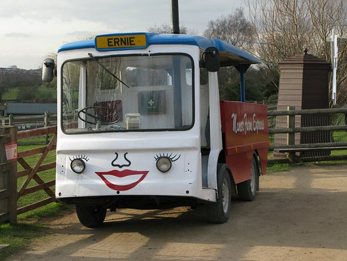 """Ernie"" - The fastest milk float in the west!"