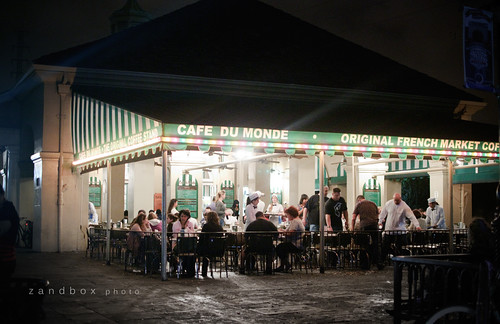 cafe' du monde by zandbox