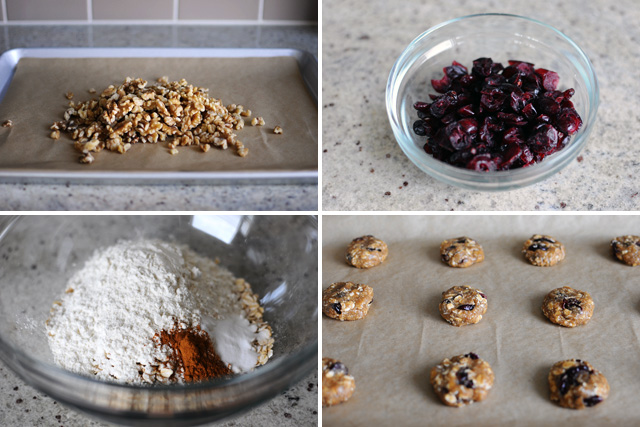 vegan-oatmeal-cranberry-cookies-ingredients
