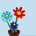LEGO Flowers by bruceywan