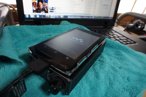 WalkmanZ with ibasso fi.Quest