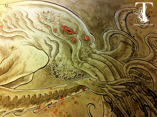 And It's LIVE. ( Templesmith.com that is )