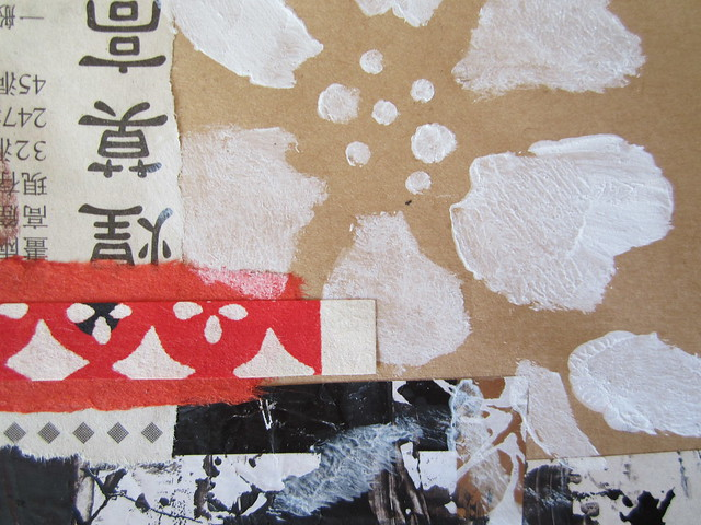 Chinese Idea - collage studies detail