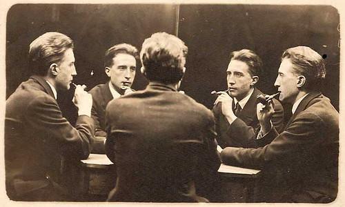 Five-Way Portrait of Marcel Duchamp (1917) by Cea.