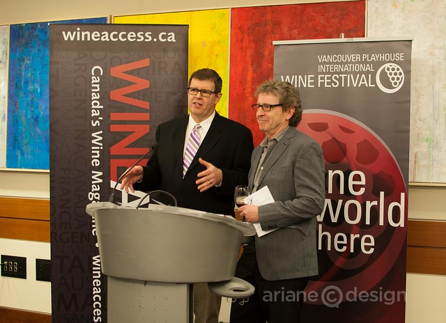 Anthony Gismondi and David Lawrason of Wine Access