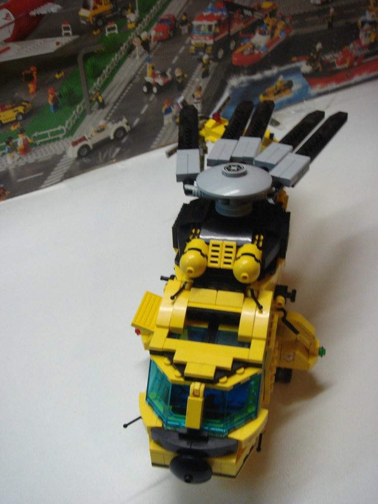Lego Αεροπλάνα και Ελικόπτερα - Σελίδα 2 6797402868_7a5ac71101_b