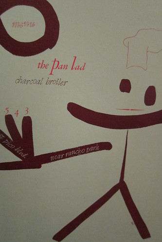 Menu Design in America: The Pan Lad