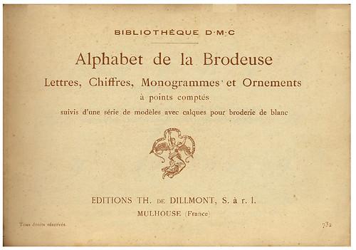 002-Contraportada-Alphabet de la Brodeuse1932- Thérèse de Dillmont
