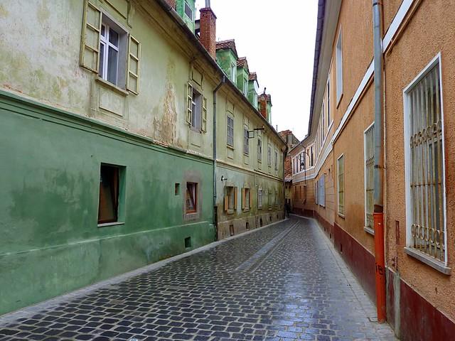 Street in Brasov, Romania