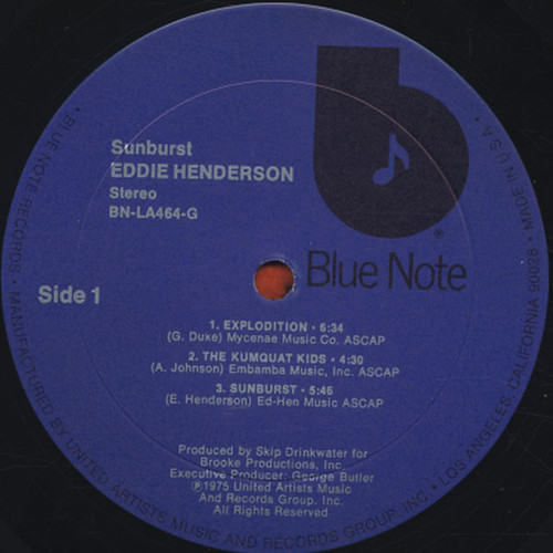 eddie henderson_sunburst_label_1