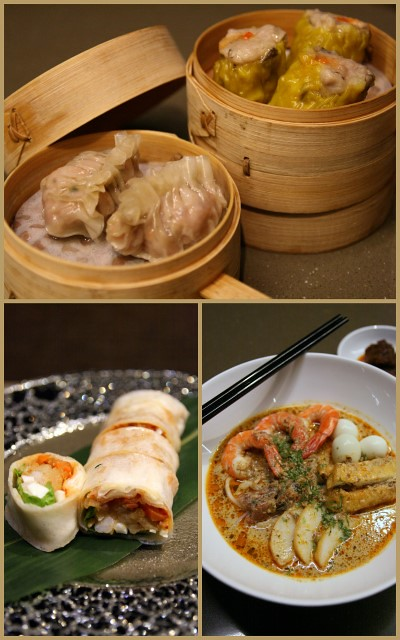 Dim sum, Popiah and Laksa