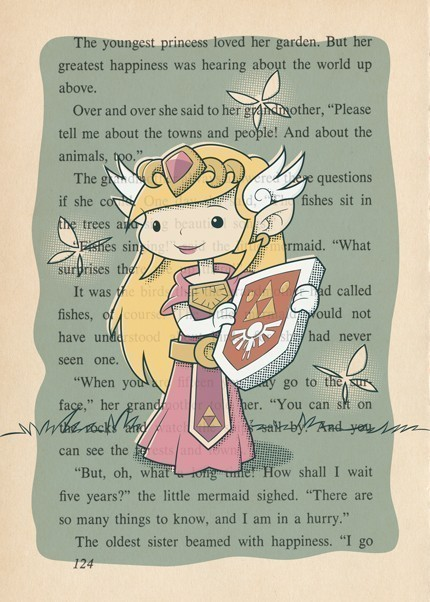 Princesa Zelda (obra de Fort Awesome Studios)