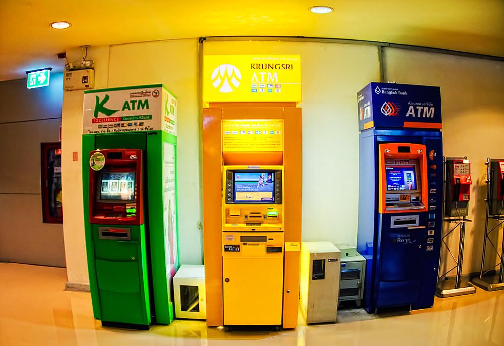 ATM's . .