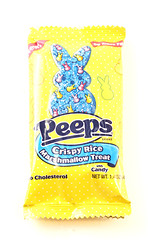 Peeps Crispy Rice Marshmallow Treat Bag