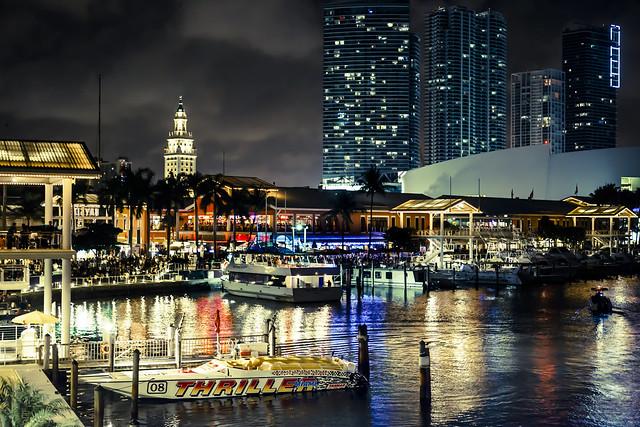 Bayside Marketplace Miami Beach Florida