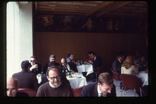 Restaurant Archangelskoe, Moscow, 1969