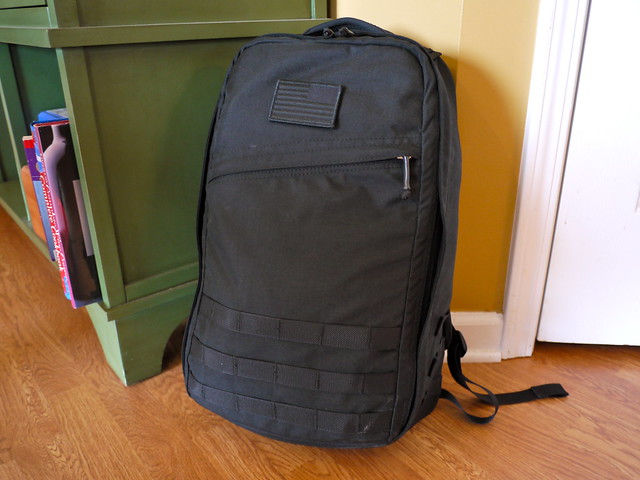 GORUCK GR1 packed and ready to go!