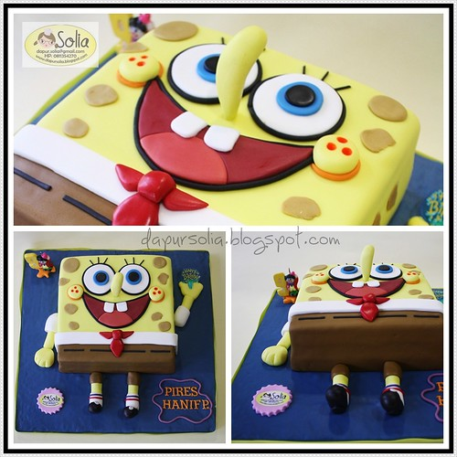 Spongebob Squarepants Pires (Kolase)