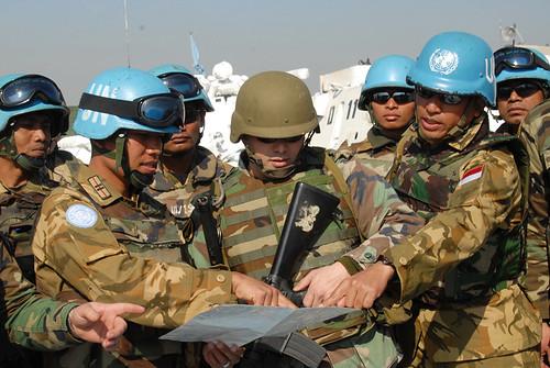Konga XXIII-F Patroli Besama dengan Tentara Lebanon