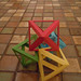 four intersecting octahedra