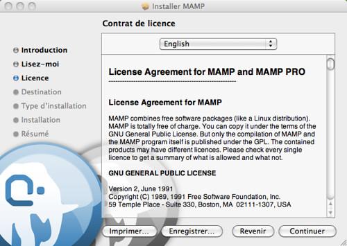 mamp-licence