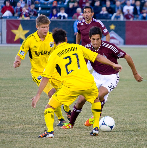 Rapids vs. Crew 2012 Tony Cascio by CE's Photography
