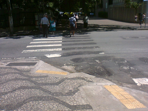 Atual faixa da Rua São Carlos do Pinhal