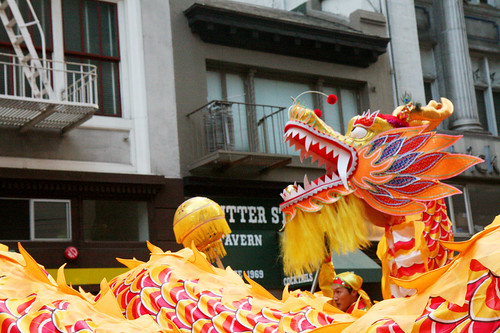 Chinese Dragon in SF