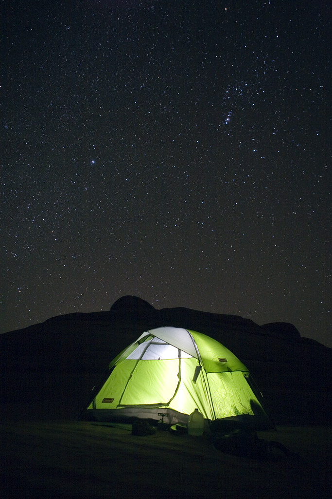 A Night Under The Stars Arches National Park The First P