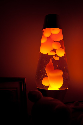 Mathmos lava lamp