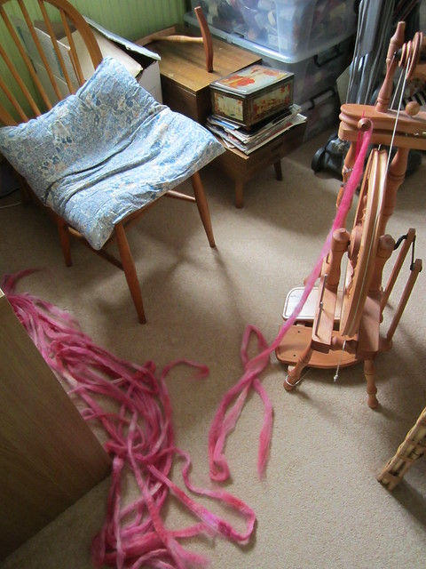 It's got to be pink spinning in progress (1)