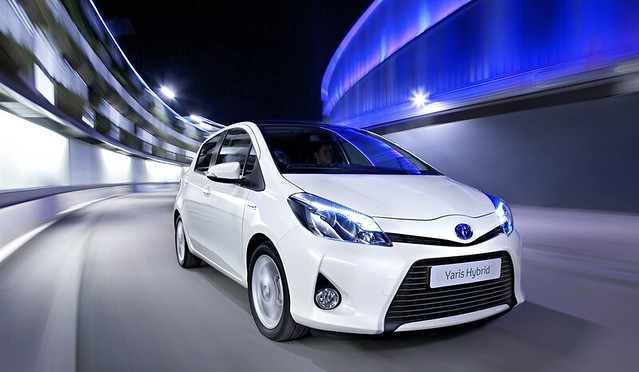 toyota yaris hybrid flickr photo sharing. Black Bedroom Furniture Sets. Home Design Ideas