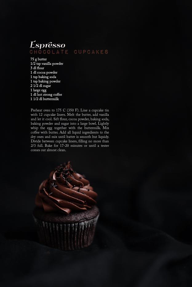 Call me cupcake: Perfect espresso chocolate cupcakes