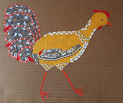 Chicken Collage Day 16 (February 11, 2012) by randubnick