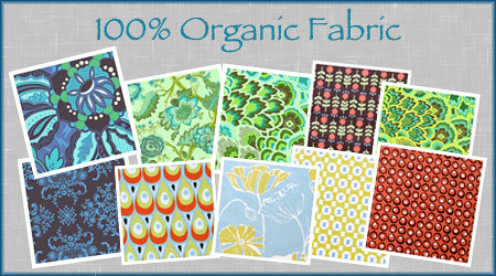 Organic Fabric Giveaway!! Begins Friday!