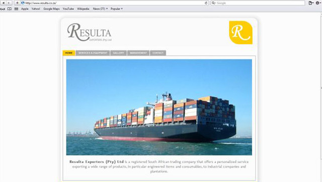 Resulta Exporters Website