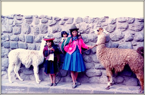 People of Peru in Cusco