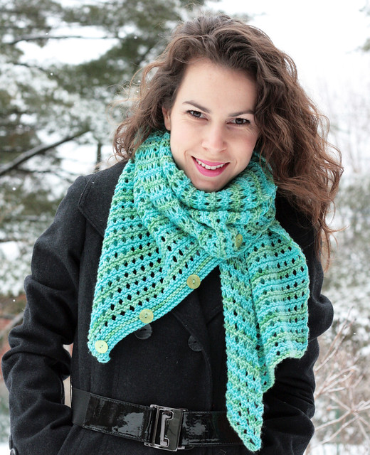 Mint Sea scarf