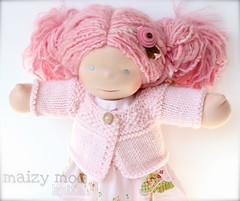 "Nursery Rhymes Sundress and Cardigan Set for 15"" Doll"