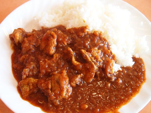 第二天午餐的咖哩雞