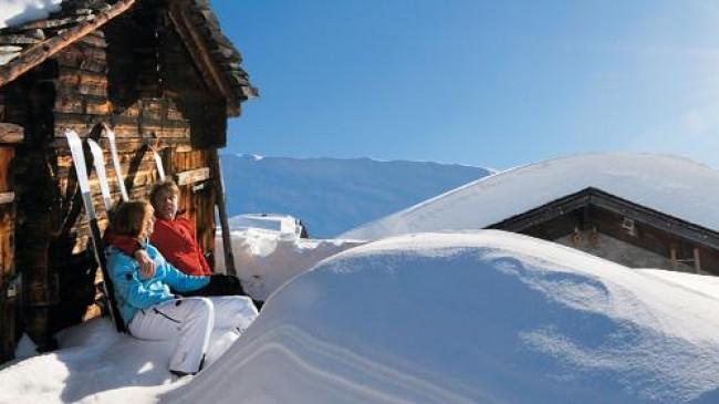 Švýcarská zimní dovolená