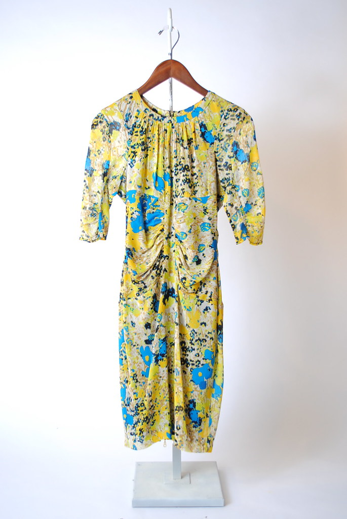 Wild Meadow Print Dress