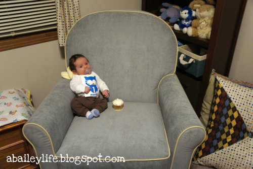 little boy big chair