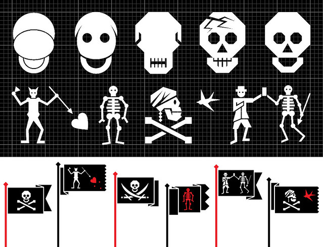 Wired 20.03 : Famous Pirate Flags.