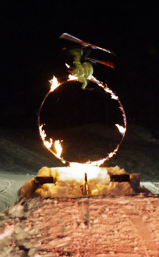 canada whistler jump britishcolumbia skiresort flip fireice skishow burningring