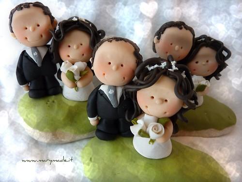Il cake topper per Matrimonio di Sonia
