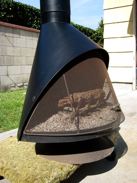 Original Vintage1960 39 S Retro Free Standing Black Conical Gas Fireplace Flickr Photo Sharing